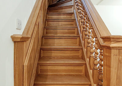 Handcrafted Wooden Staircase